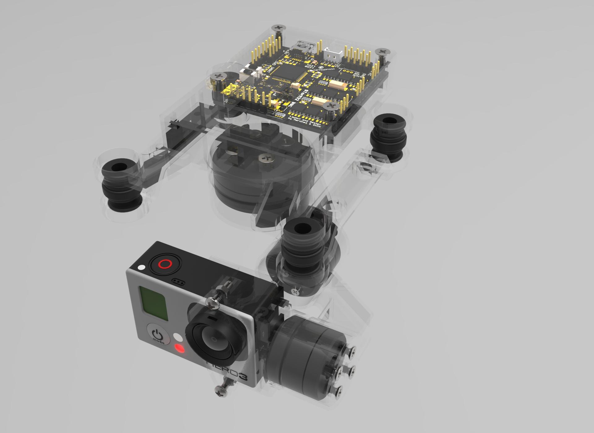 Nacelle DIY STORM32 flashage firmware [partie1]