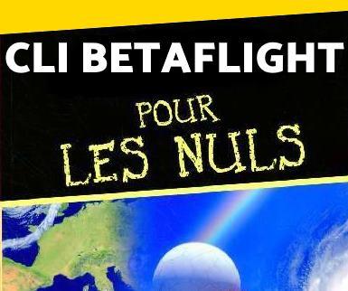 BETAFLIGHT LE CLI POUR LES NULS